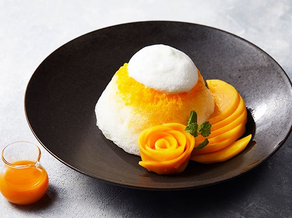 shaved ice mango