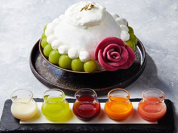 shaved ice muscat